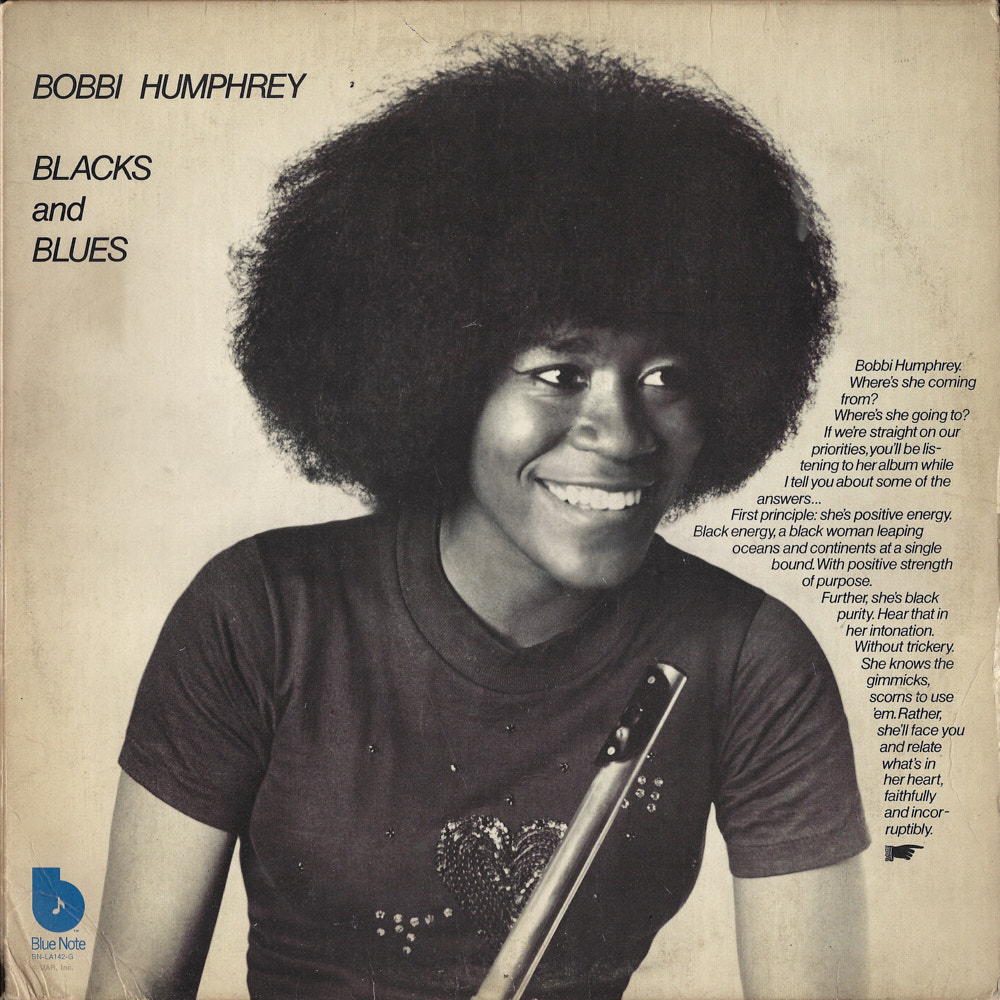 Bobbi Humphrey – Blacks and Blues album cover