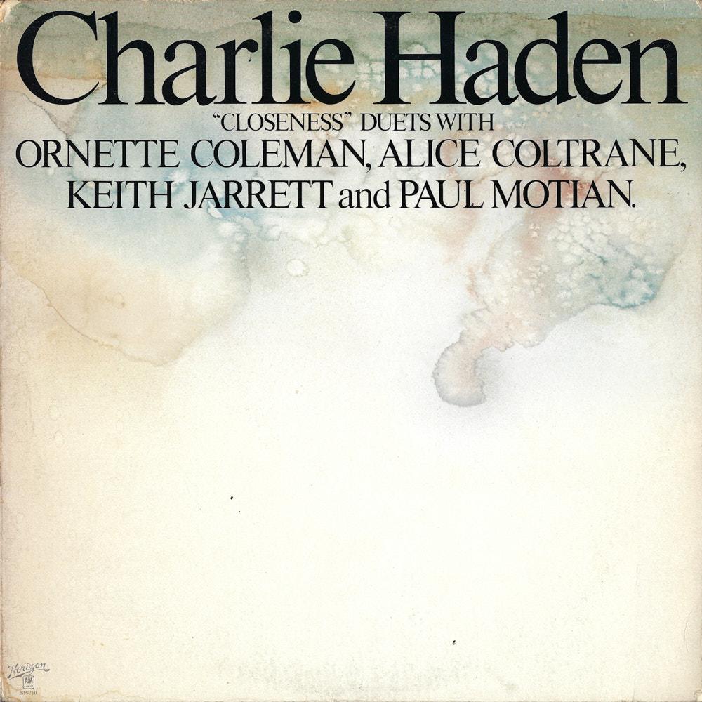 Charlie Haden – Closeness album cover