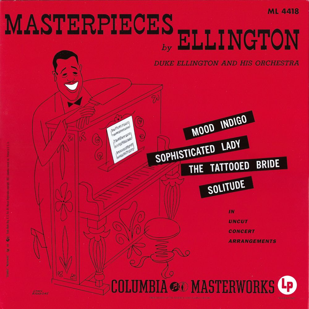 Duke Ellington – Masterpieces by Ellington album cover