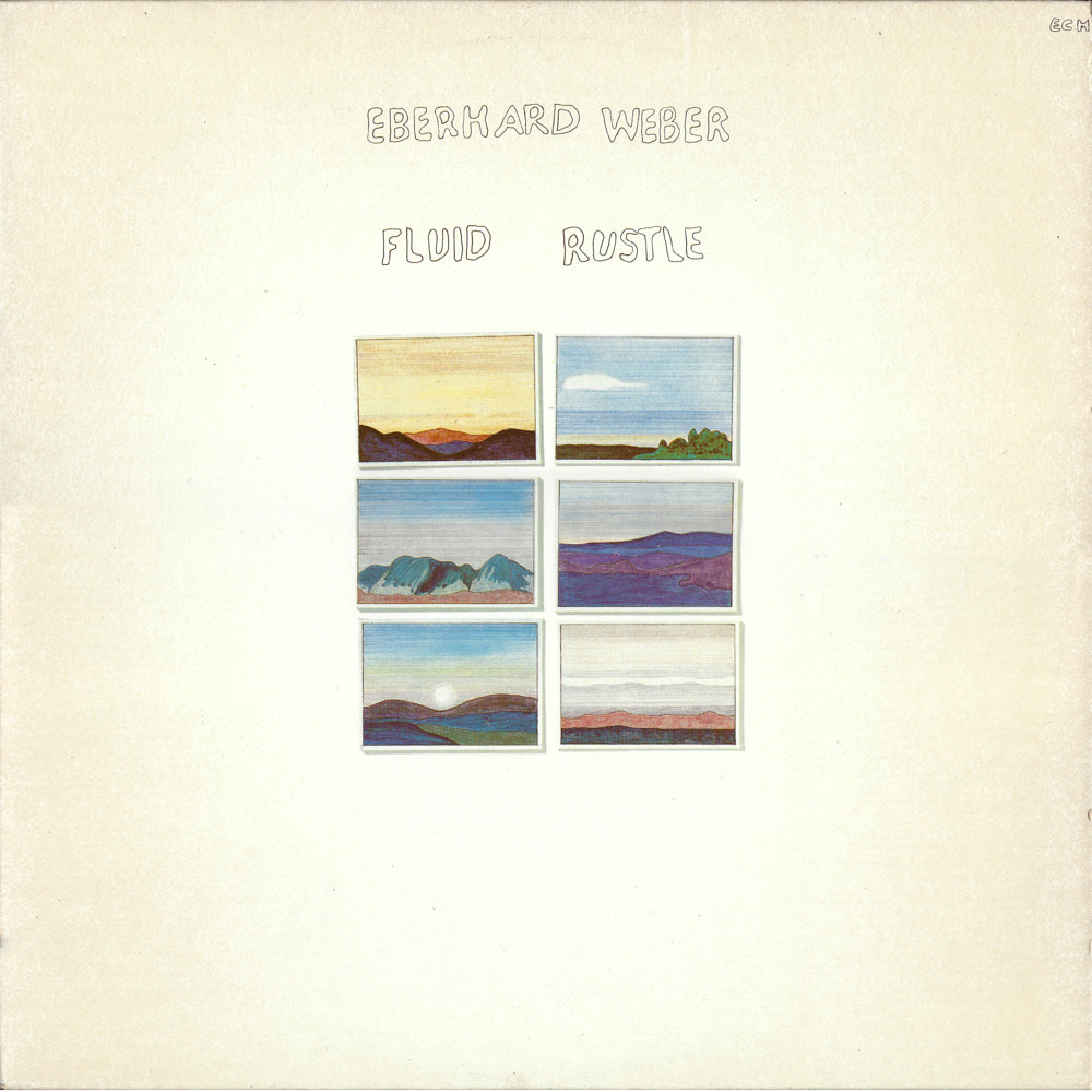 Eberhard Weber – Fluid Rustle album cover