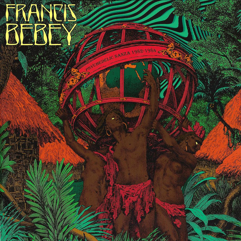 Francis Bebey – Psychedelic Sanza 1982 – 1984 album cover