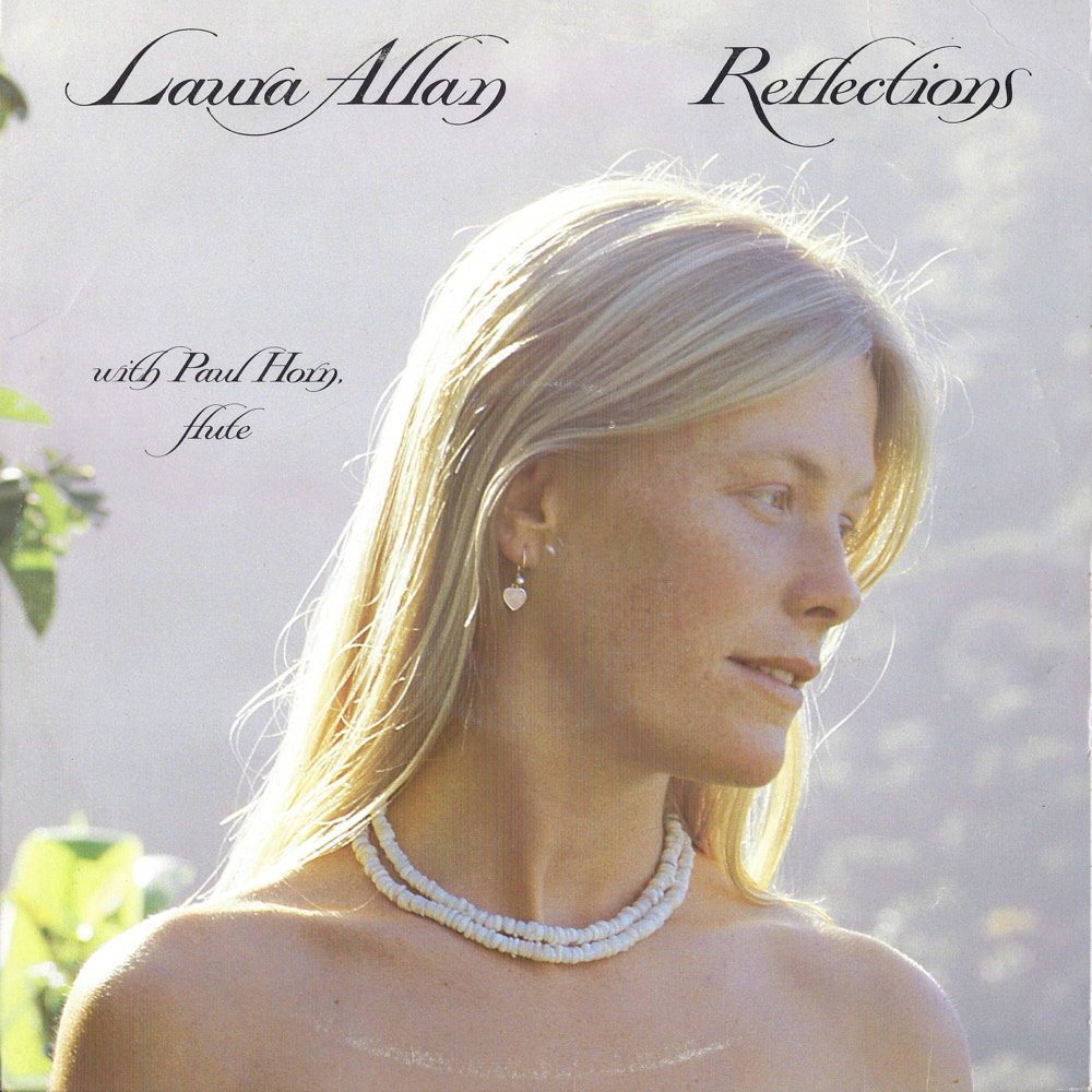 Laura Allan with Paul Horn – Reflections album cover