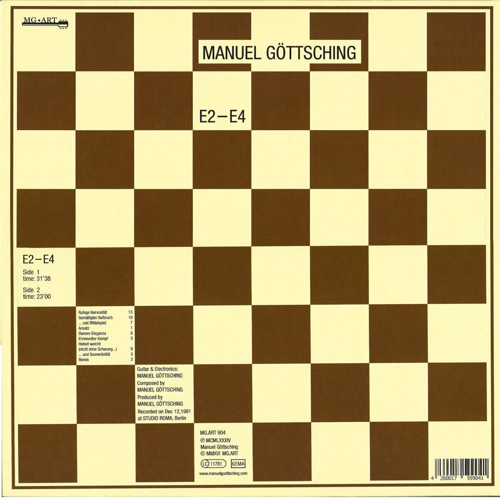 Manuel Göttsching – E2-E4 album cover