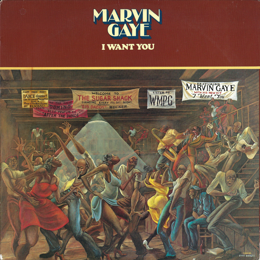 Marvin Gaye – I Want You album cover