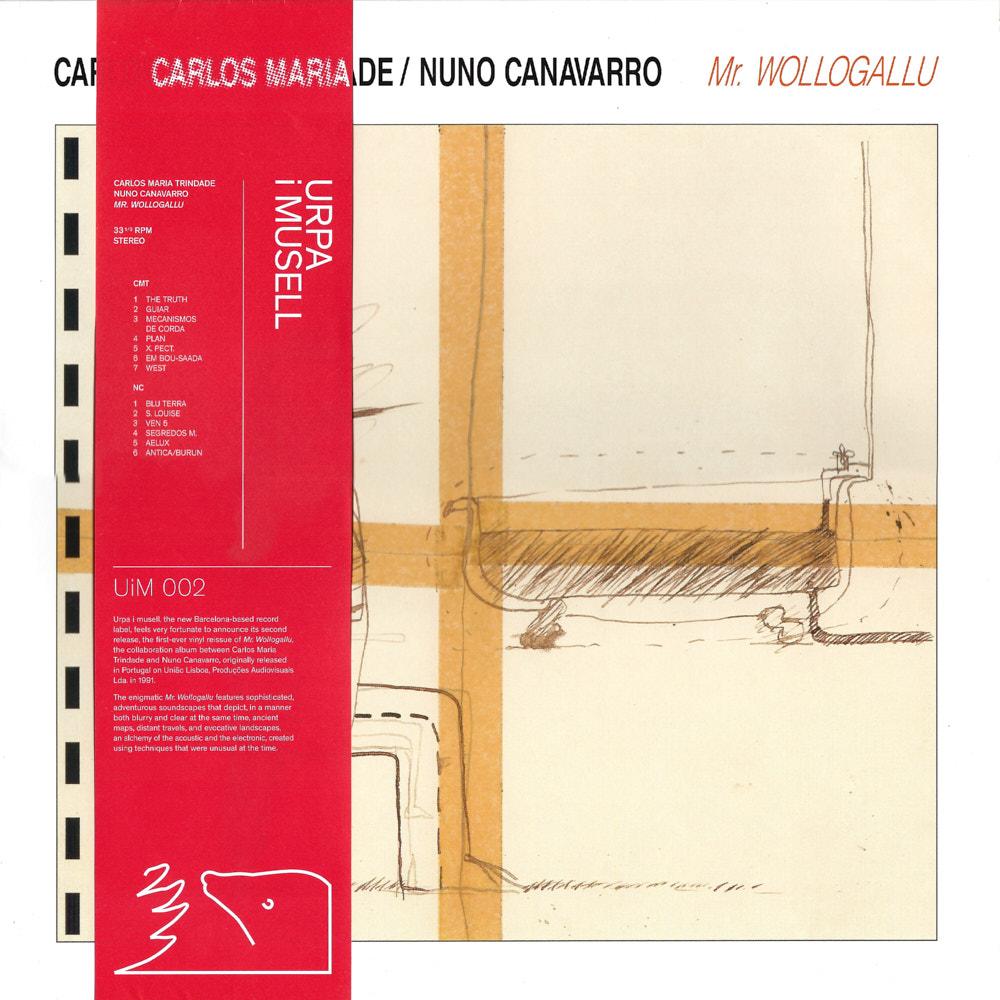 Carlos Maria Trindade / Nuno Canavarro – Mr. Wollogallu album cover
