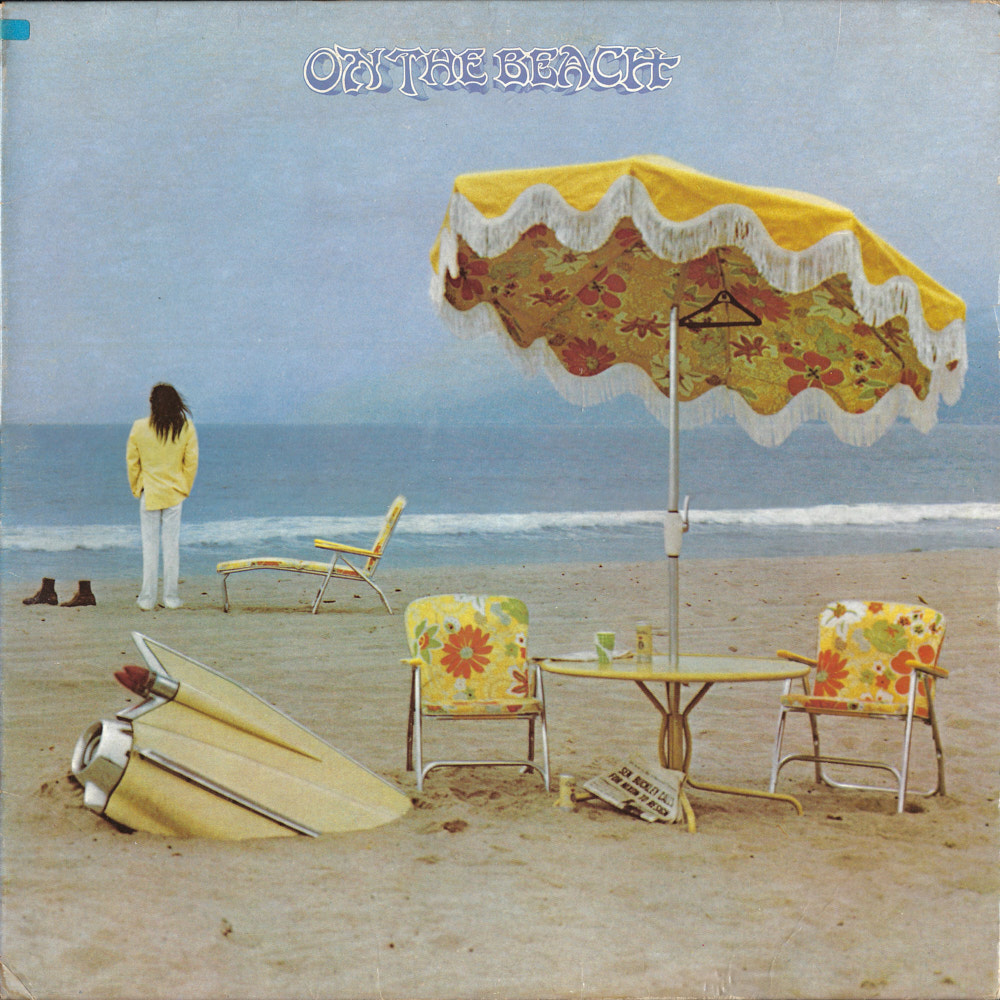 Neil Young – On the Beach album cover
