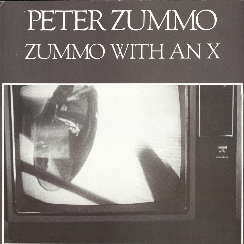 Peter Zummo – Zummo With An X album cover