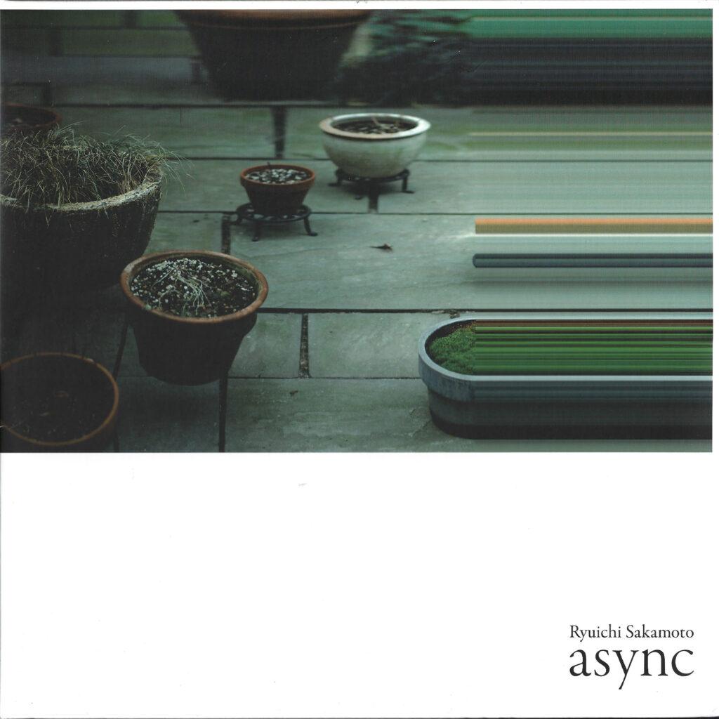 Ryuichi Sakamoto – Asnyc album cover