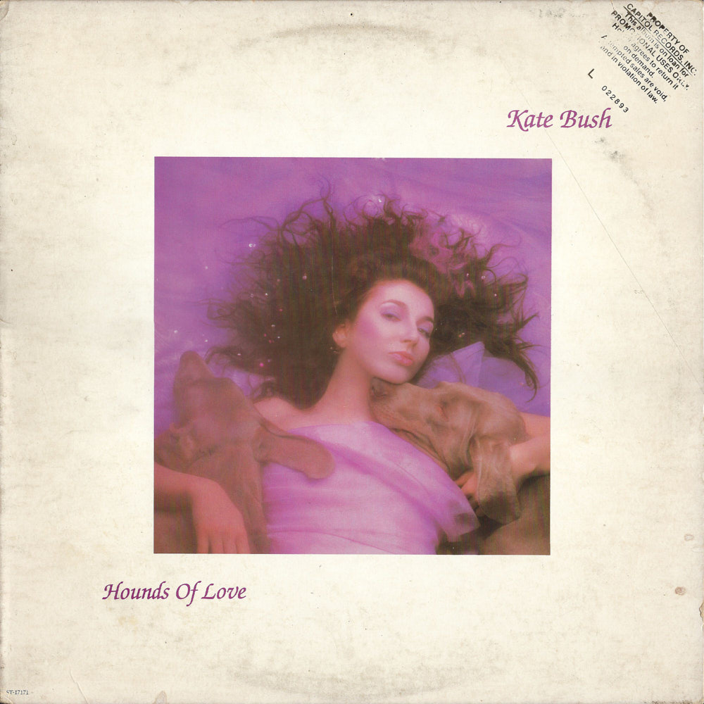Kate Bush – Hounds of Love album cover