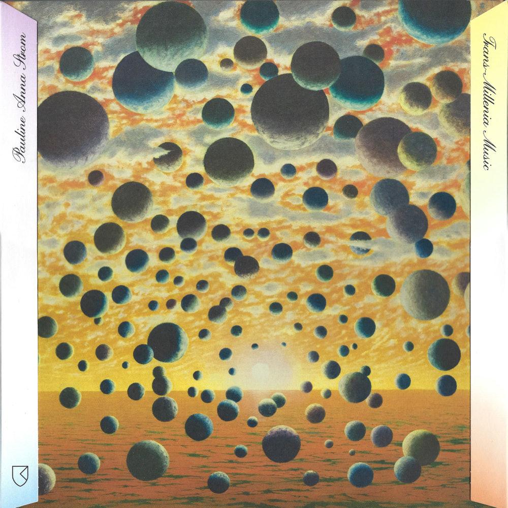 Pauline Anna Strom – Trans-Millenia Music album cover