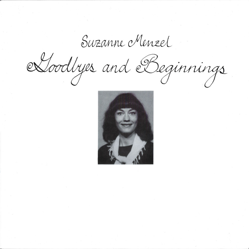 Suzanne Menzel – Goodbyes And Beginnings album cover