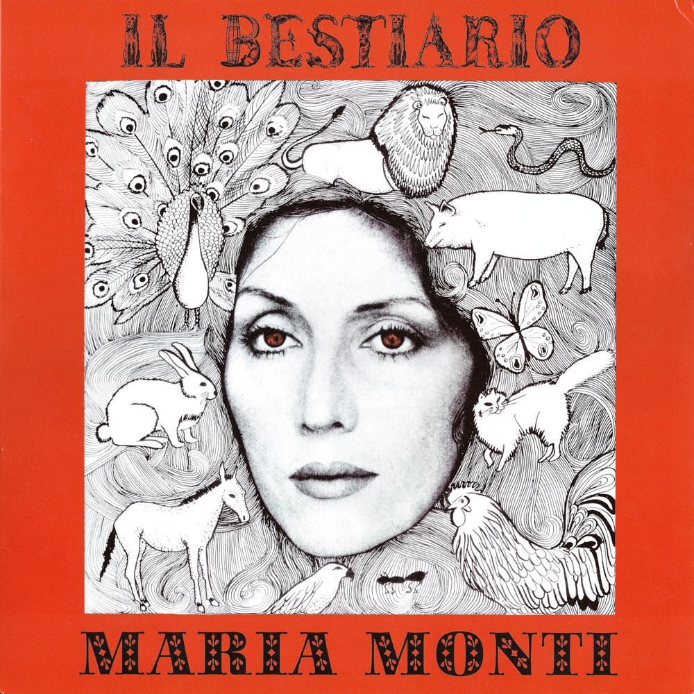 Maria Monti – Il Bestiario album cover