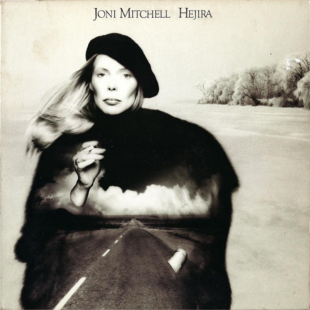 Joni Mitchell – Hejira album cover