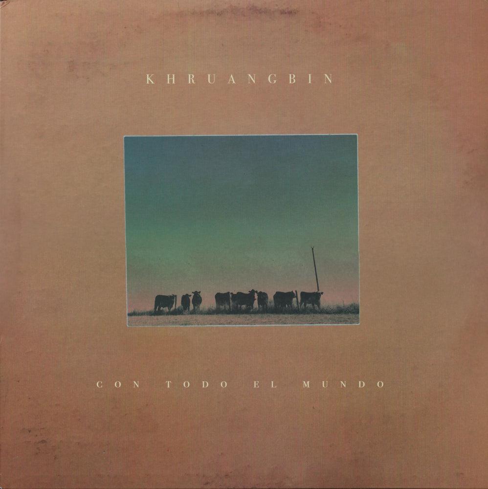 Khruangbin – Con Todo El Mundo album cover