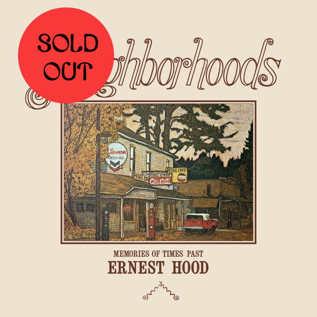 Ernest Hood – Neighborhoods LP product image