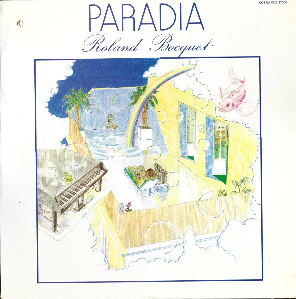 Roland Boucqet – Paradia album cover