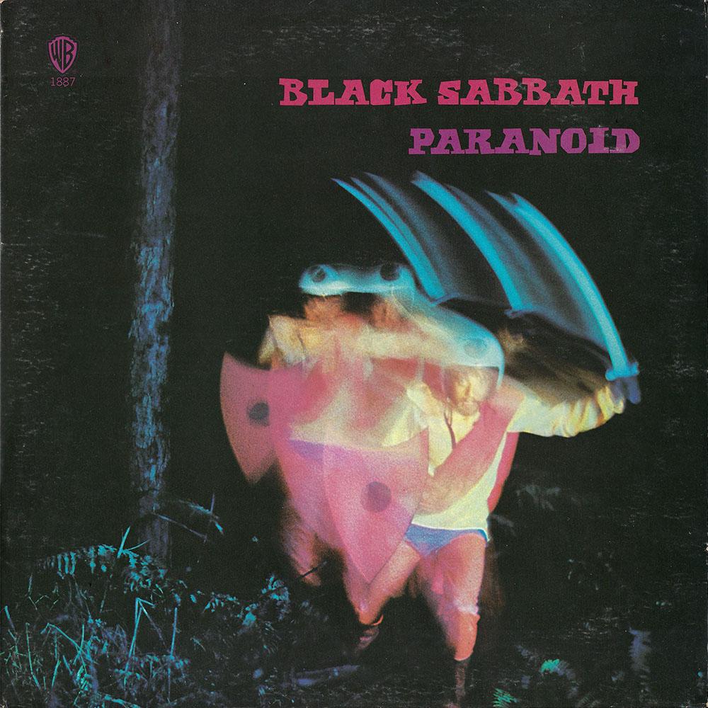 Black Sabbath – Paranoid album cover