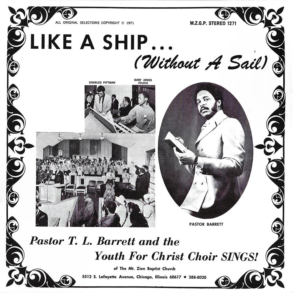 Pastor TL Barrett album cover