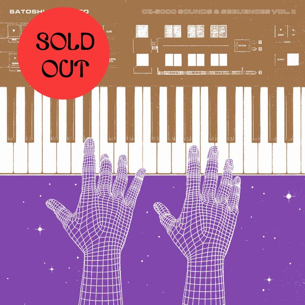 Satoshi & Makoto – CZ-5000 Sounds & Sequences Vol. II LP product image