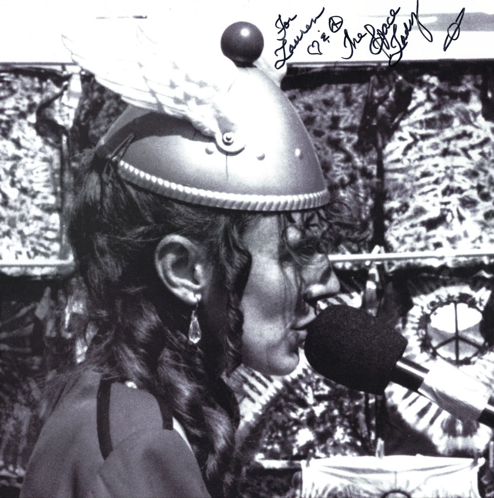 The Space Lady album cover