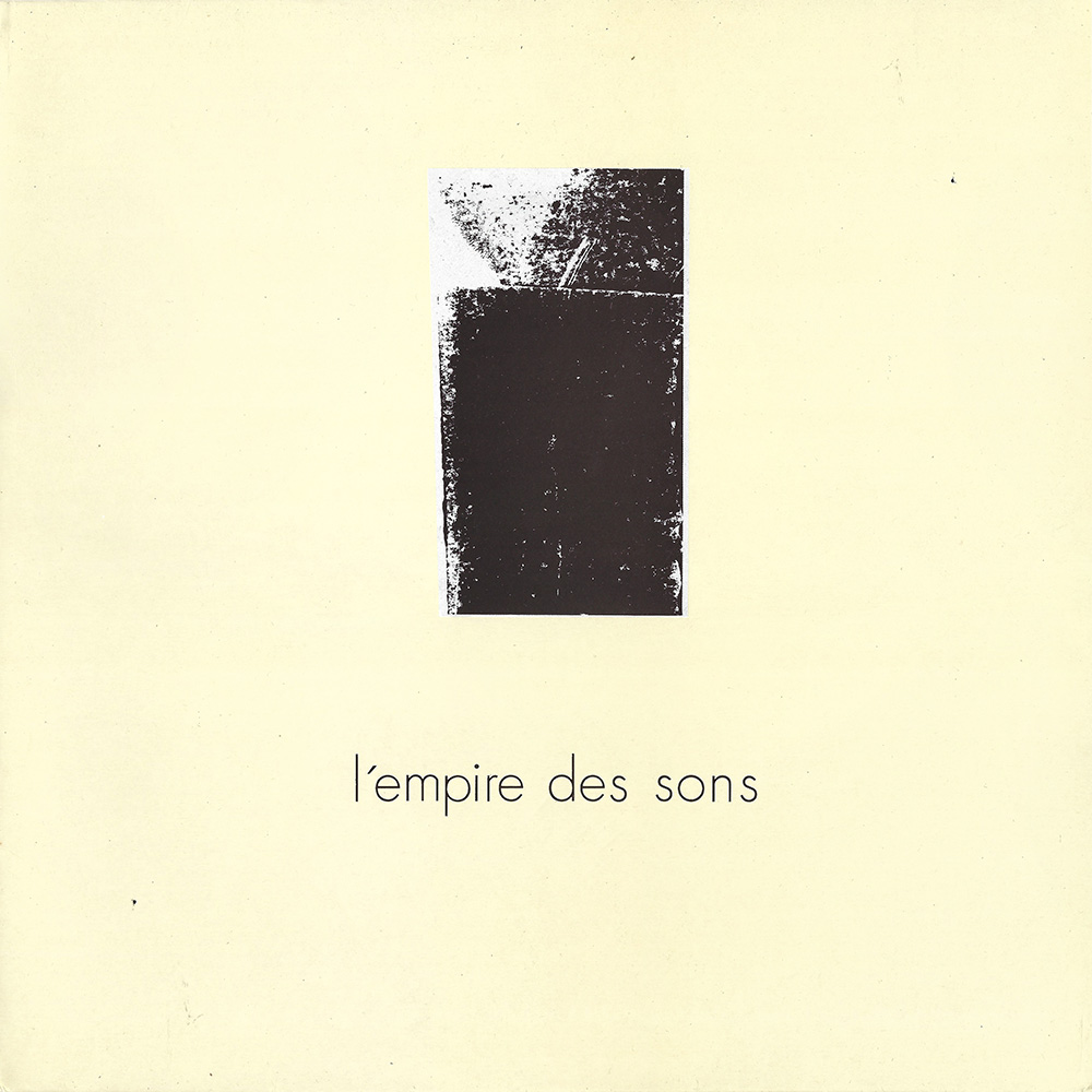 L'empire Des Sons album cover