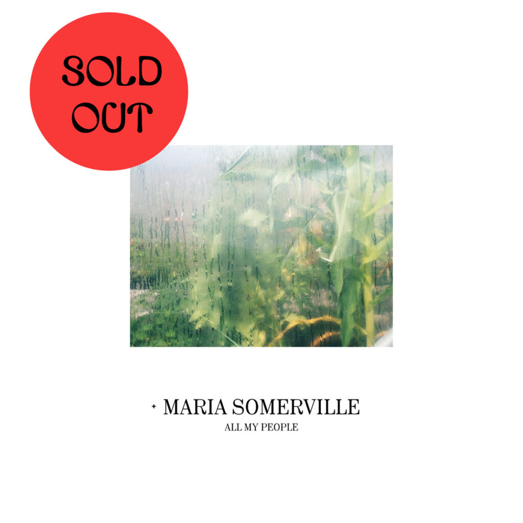 Maria Somerville - All My People LP product image