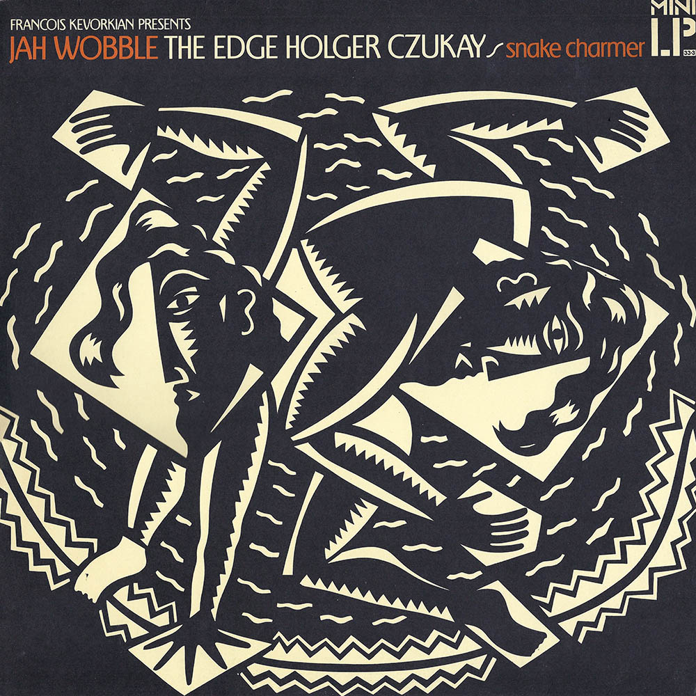 Jah Wobble, The Edge, Holger Czukay – Snake Charmer album cover