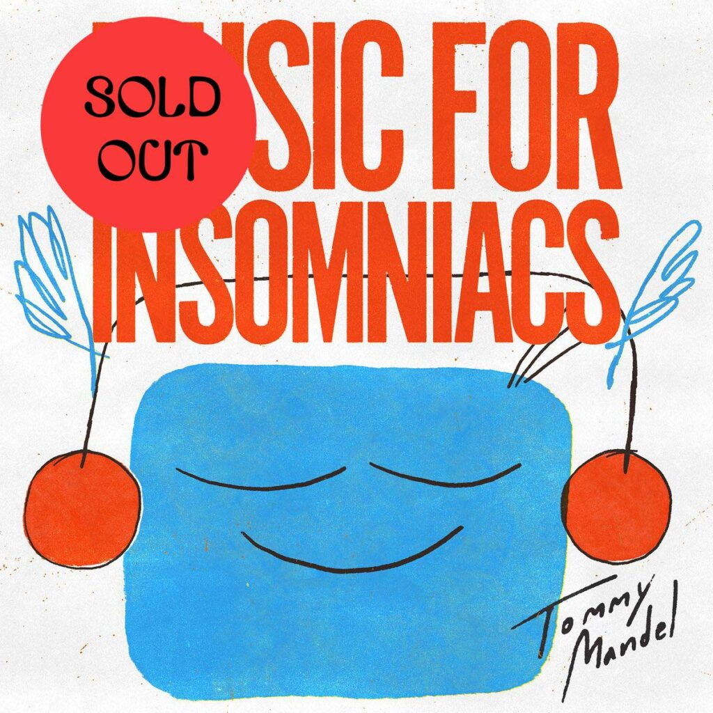 Tommy Mandel - Music For Insomniacs LP product image