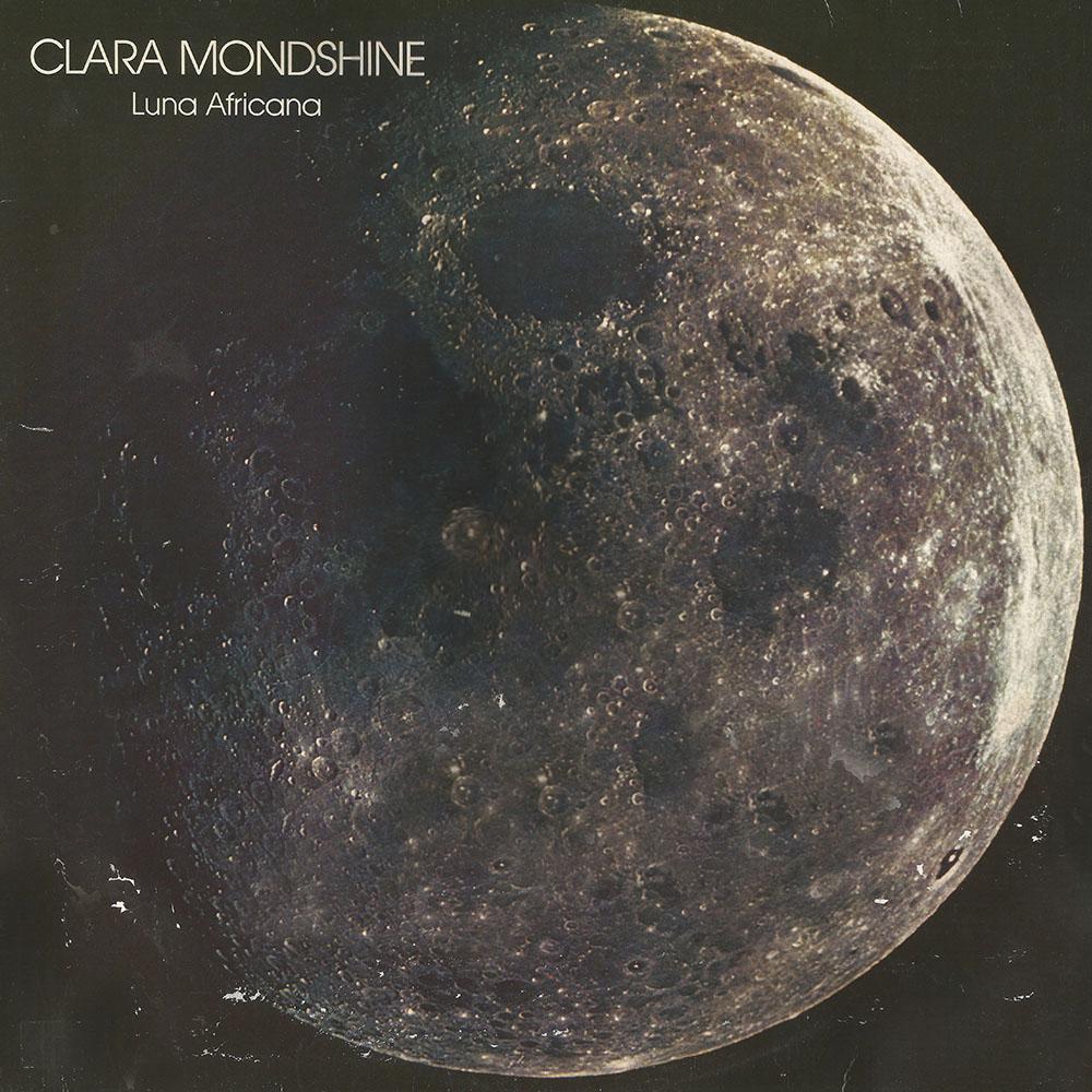 Clara Mondshine – Luna Africana album cover