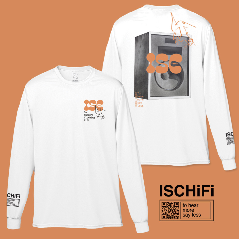 ISC HiFi – To Hear More Say Less L/S Shirt product image