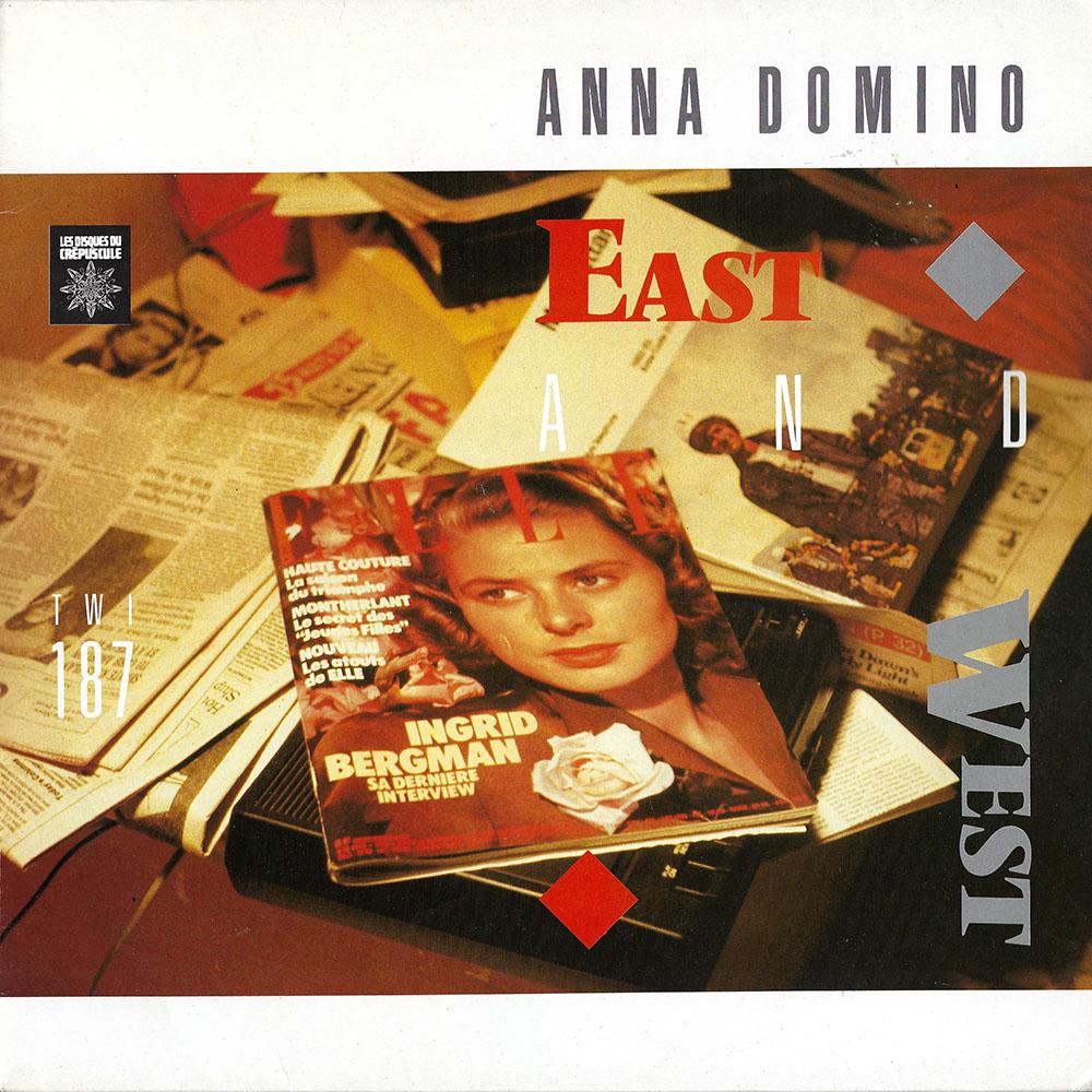 Anna Domino – East & West album cover