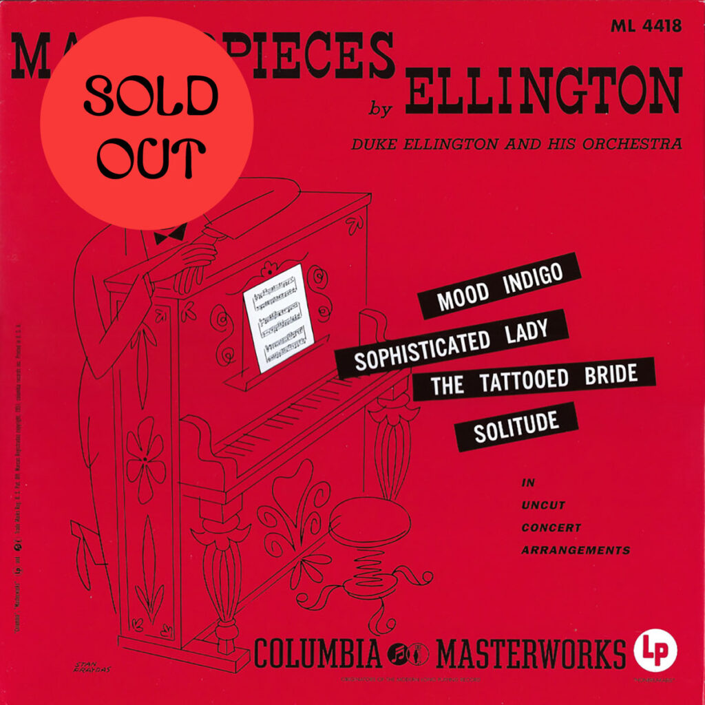 Duke Ellington And His Orchestra - Masterpieces By Ellington LP product image