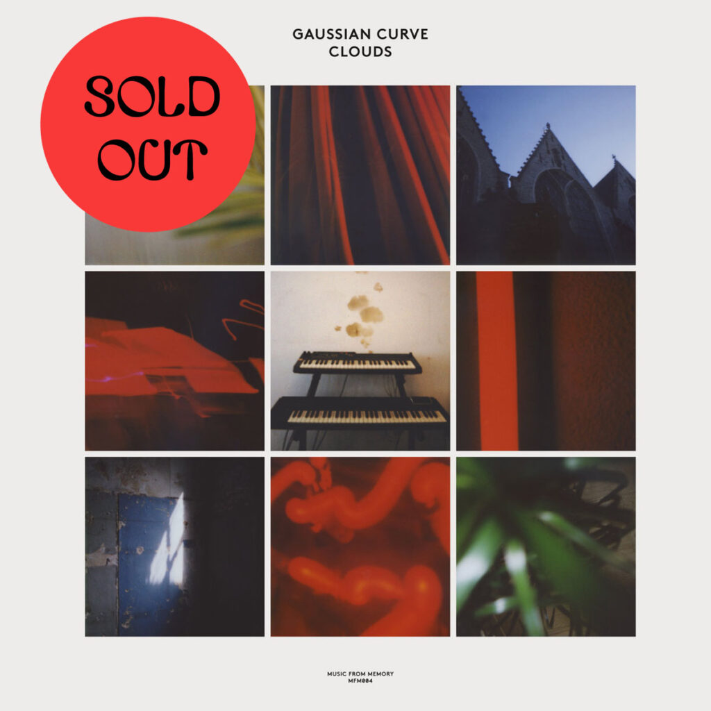 Gaussian Curve - Clouds LP product image