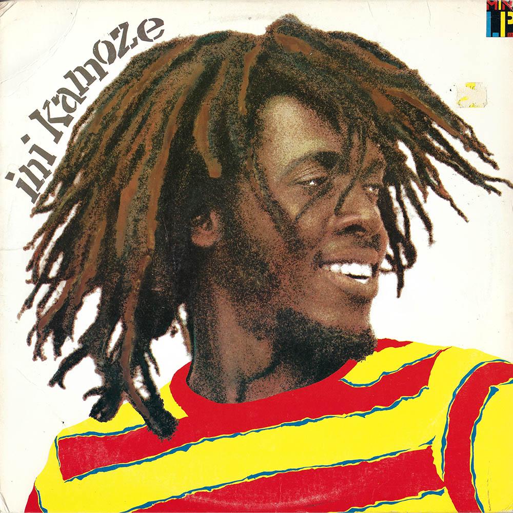 Ini Kamoze album cover