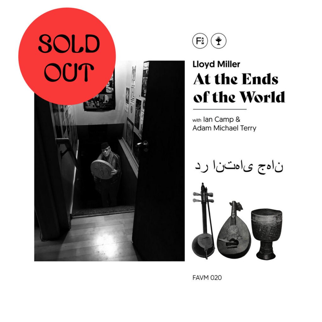 Lloyd Miller - At The Ends Of The World LP product image