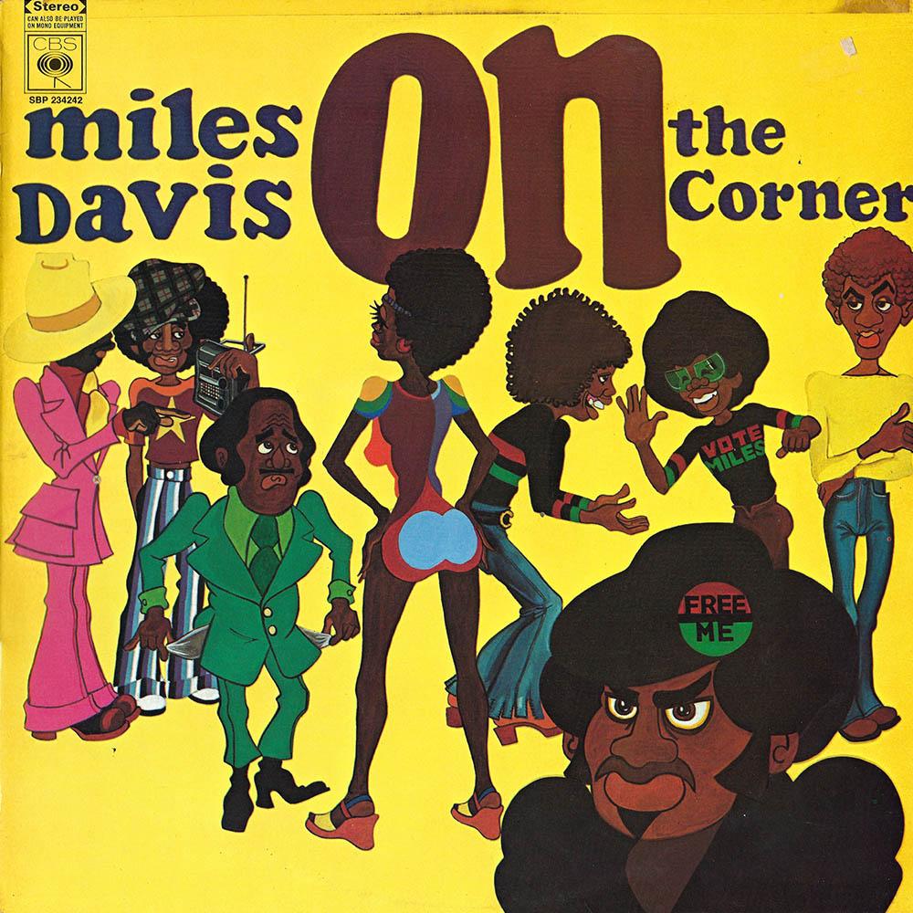 Miles Davis – On the Corner album cover