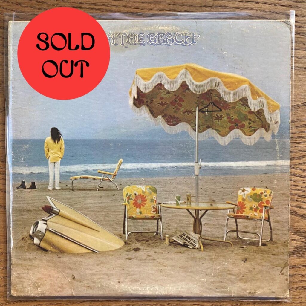 Neil Young – On The Beach LP product image
