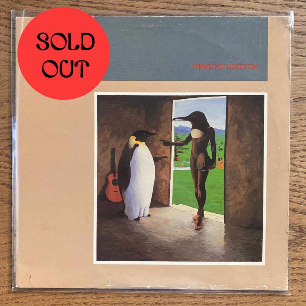 Penguin Cafe Orchestra – Penguin Cafe Orchestra LP product image
