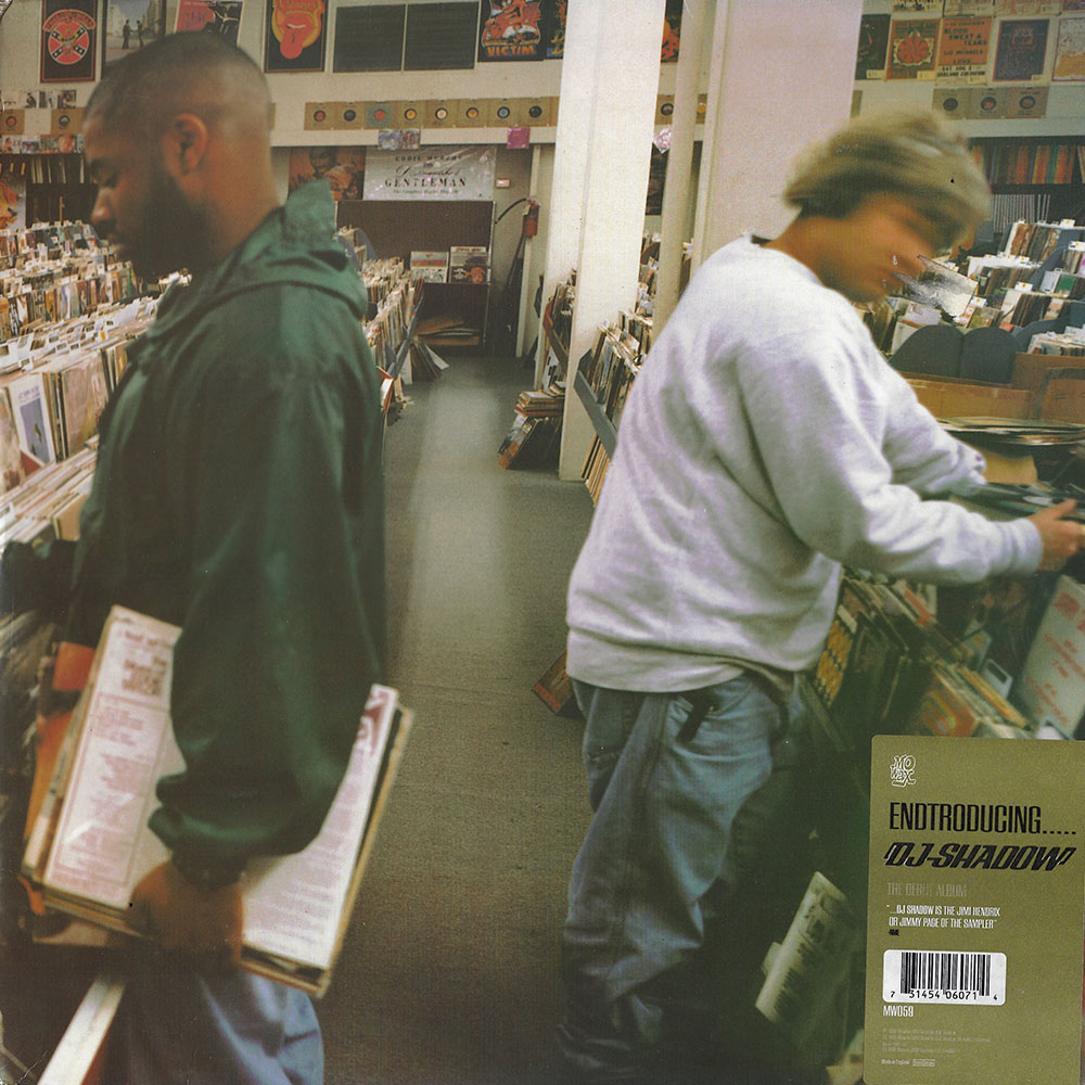 DJ Shadow – Endtroducing album cover