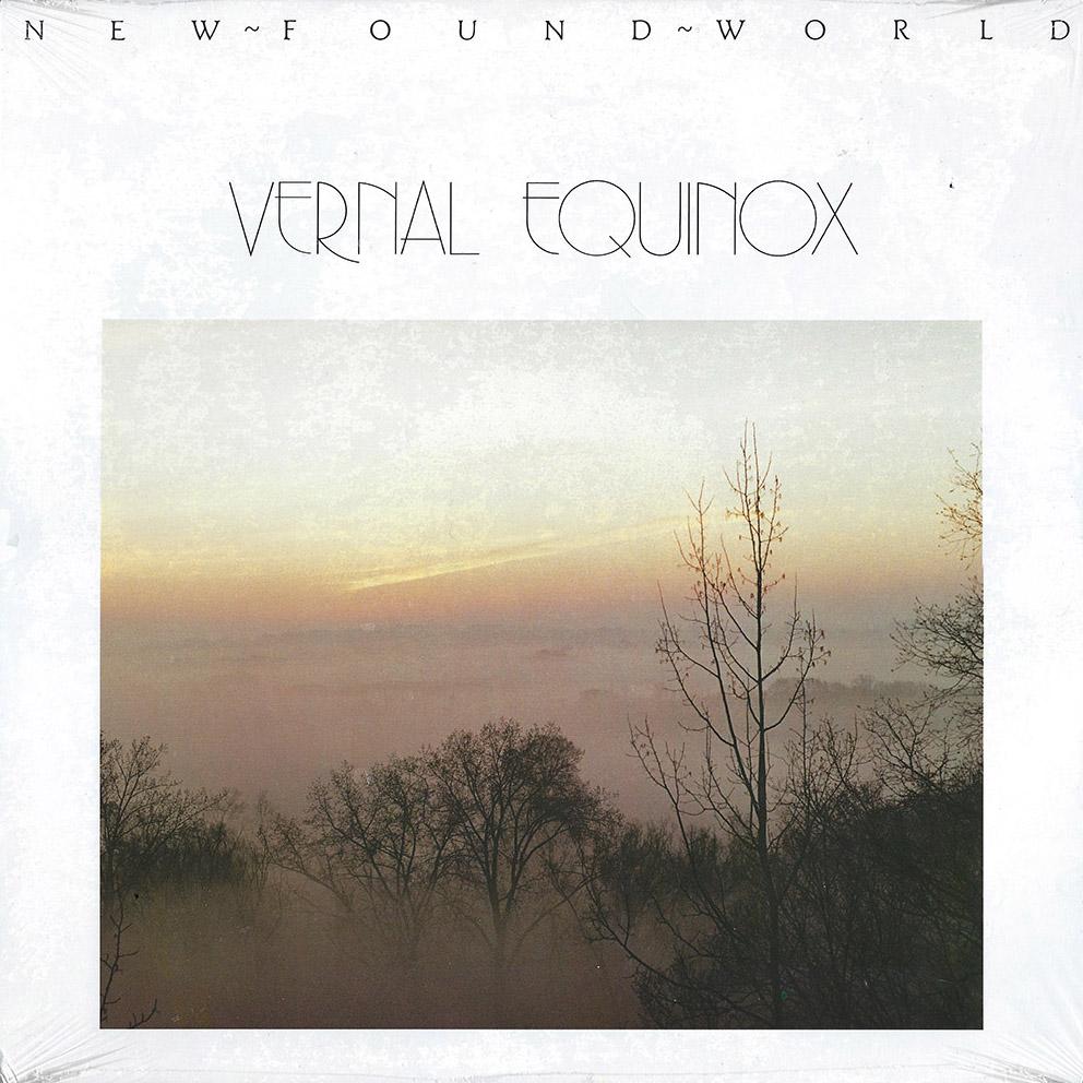 Vernal Equinox – New Found World album cover