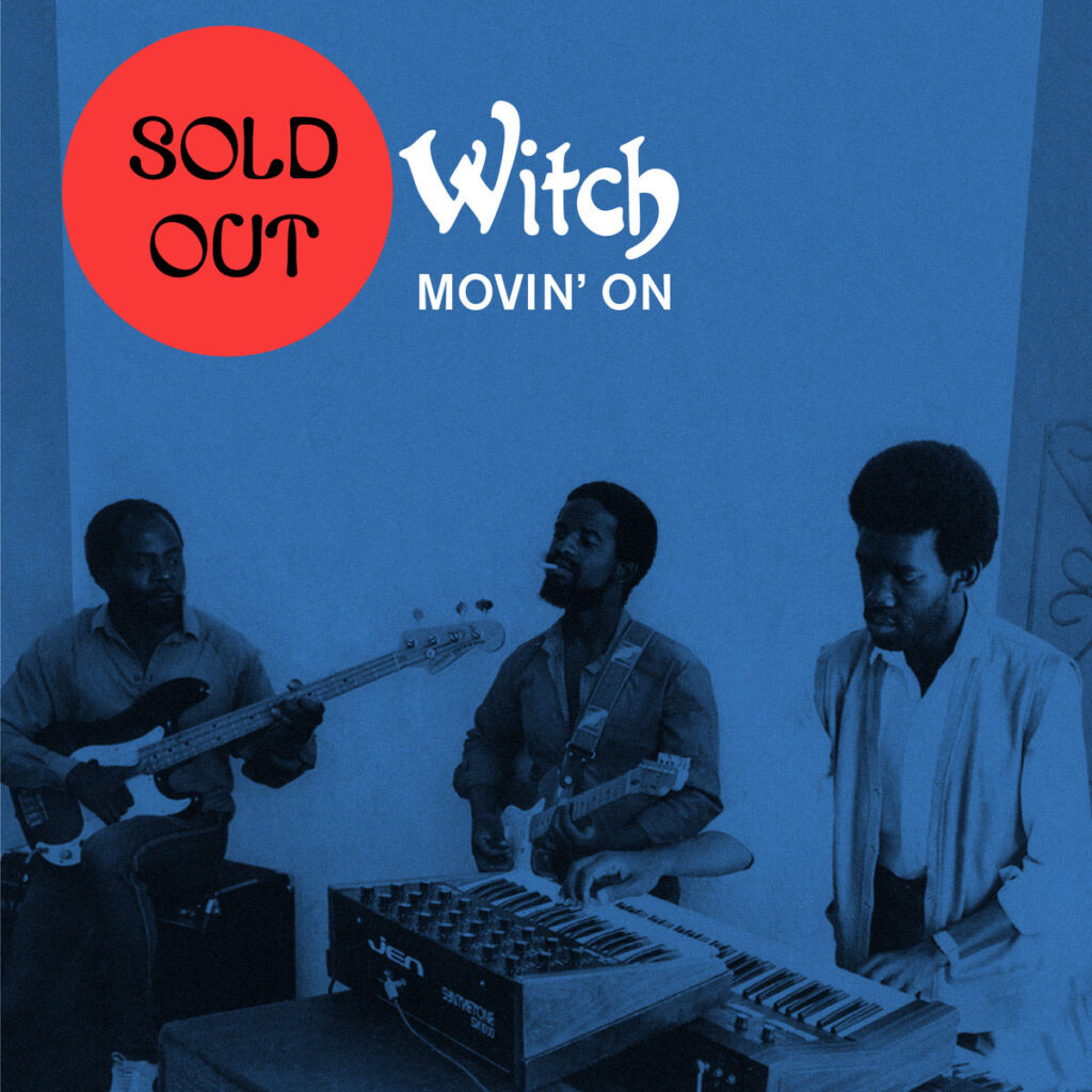 Witch – Movin' On LP product image