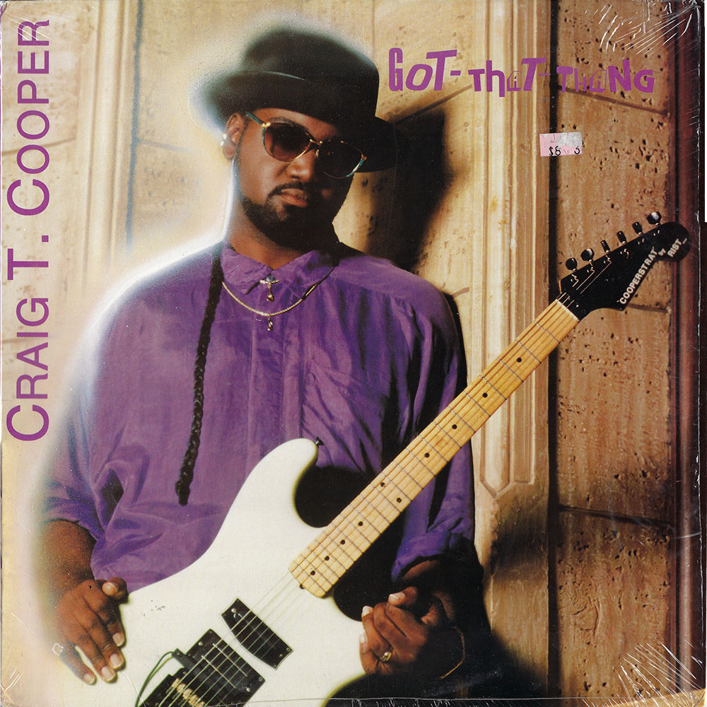 Craig T. Cooper – Got-That-Thang album cover