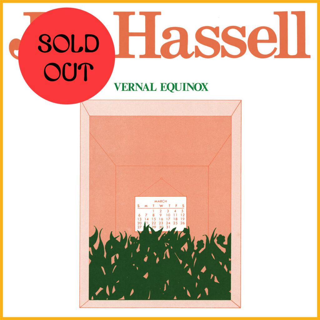 Jon Hassell - Vernal Equinox LP product image