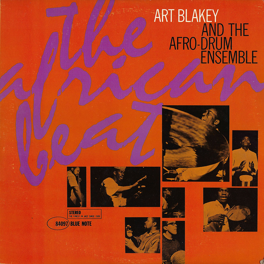 Art Blakey & the Afro Drum Ensemble album cover