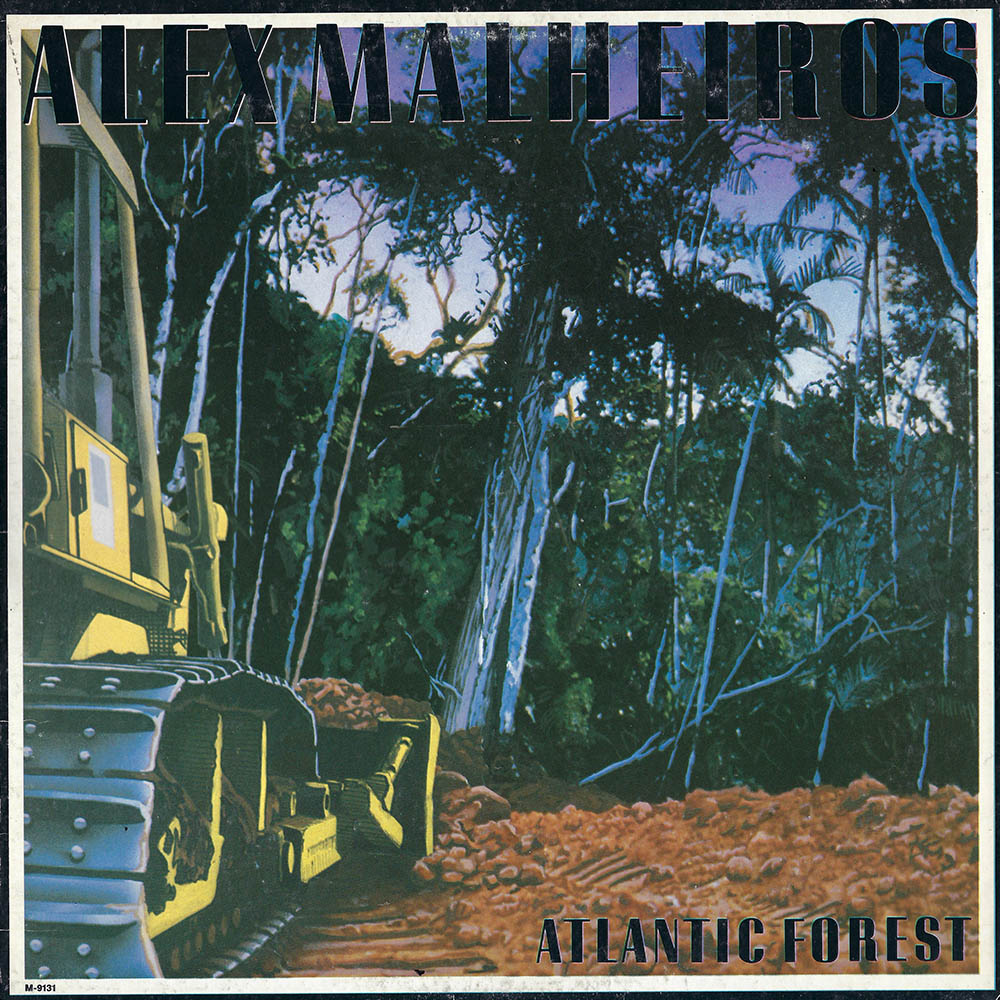 Alex Malheiros – Atlantic Forest album cover