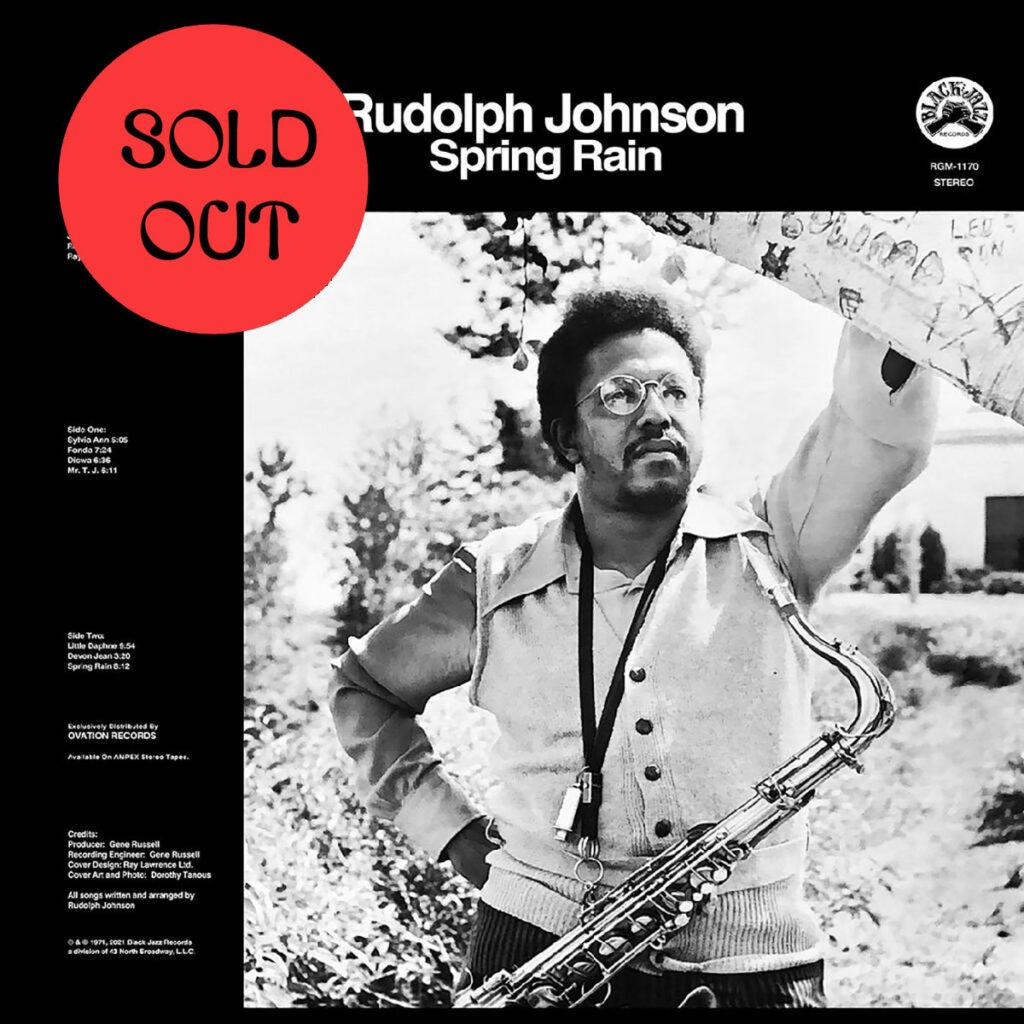 Rudolph Johnson - Spring Rain LP product image