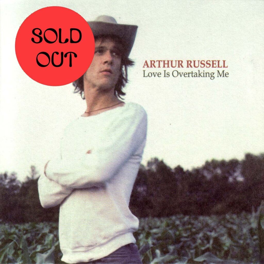 Arthur Russell - Love Is Overtaking Me LP product image