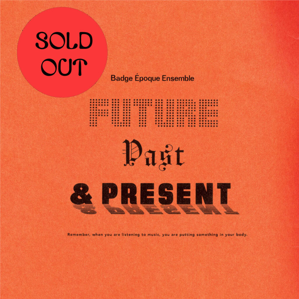 Badge Époque Ensemble ‎- Future Past & Present LP product image
