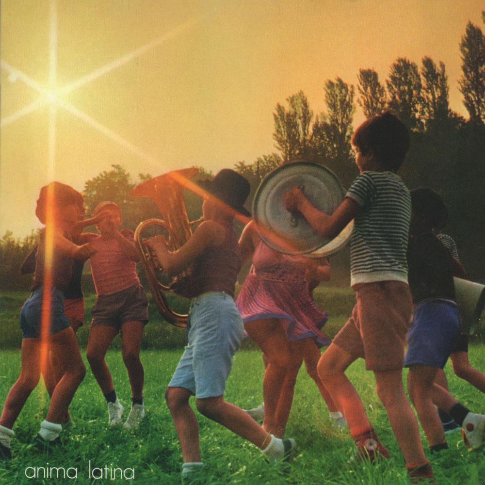 Lucio Battisti – Anima Latina album cover
