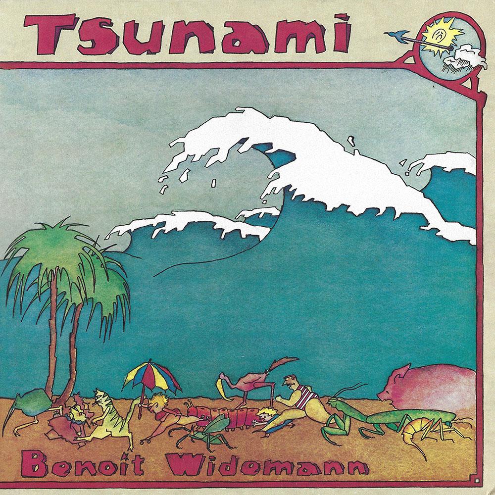Benoit Widemann – Tsunami album cover